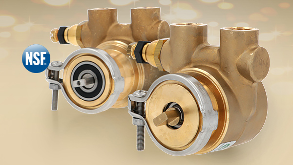 Pompe volumetriche Fluid O Tech versione Eco-Brass